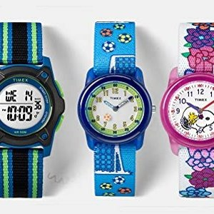 As Low as $16.25Timex kids' Time Machines Elastic Fabric Strap Watches