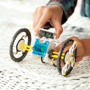 fatbriantoysDeluxe Eco Robotics - Best Building & Construction for Ages 10 to 12