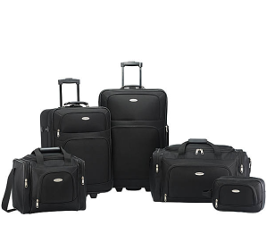 $99Samsonite Nobscot 5 Piece Luggage Set