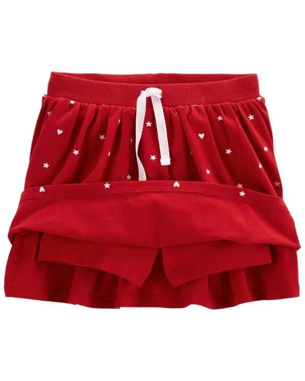 小童星星裙裤