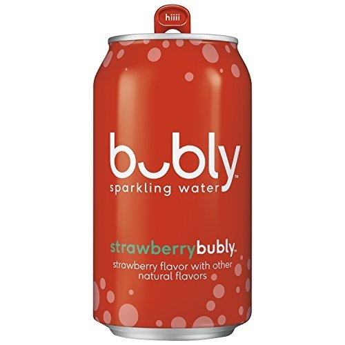 草莓口味气泡水 12 oz. 18罐