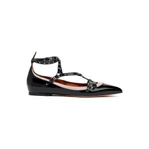 Valentino Garavani铆钉平底鞋