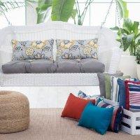 Coral Coast 装饰枕