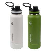 Thermoflask 40 oz. 不锈钢保温水壶2个