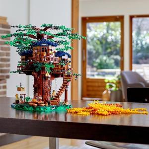 $199.99 新上市+送两份好礼折扣升级:LEGO Ideas系列 树屋 21318,春华秋实的写意体验