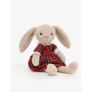 Jellycat格纹裙兔子 27cm