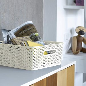 4折起 €4.19收塑料收纳箱Curver 收纳盒 将杂物化零为整 让你的家整洁又美观