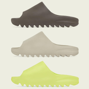 $197起上新:Stockx官网 YEEZY 爆款SLIDE拖鞋三款新色 已上架
