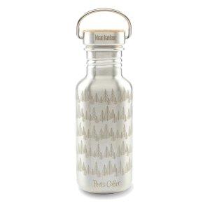 Peet's CoffeeGold Forest Klean Kanteen Water Bottle