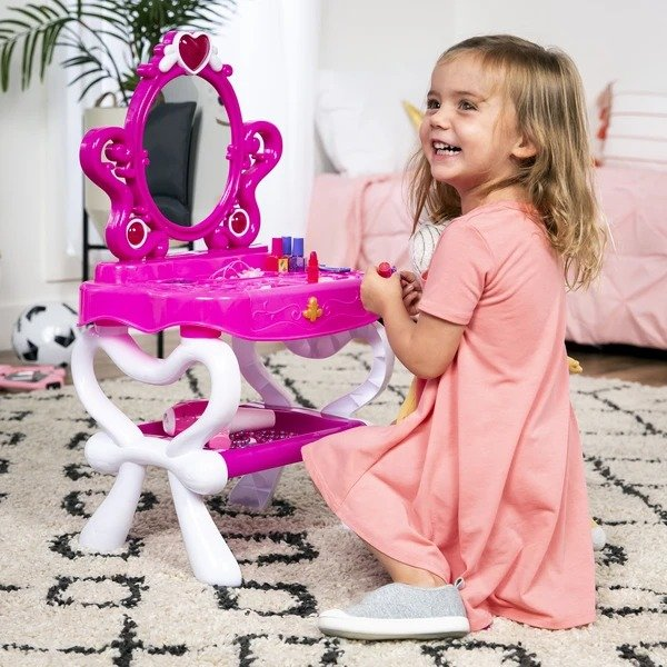 儿童化妆台+电子琴,附座椅及其他配件