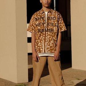 低至3.6折 經典Polo衫$170巴寶莉官網 男士專場促銷 封面小鹿襯衫上新