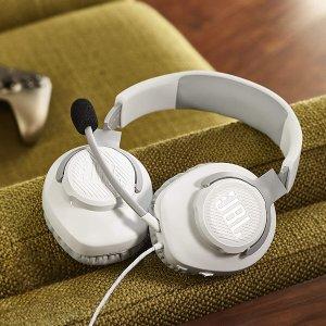 JBL Quantum 100 有线头戴式游戏耳机