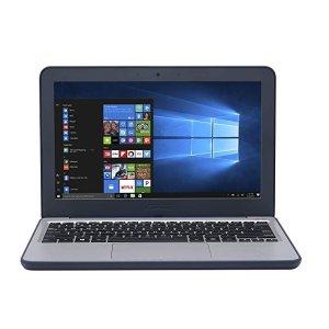 ASUS11.6 寸屏幕 (Intel Celeron N3350, 64 GB eMMC, 4 GB RAM, Windows 10 S)E201NA 笔记本电脑