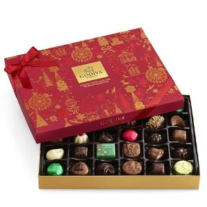 GodivaUp to 25% OffChristmas Assorted Chocolate Gift Box, 32 pc. | GODIVA