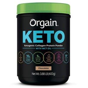 $10.50(原价$29.99)Orgain Keto 胶原蛋白粉 0.88磅装
