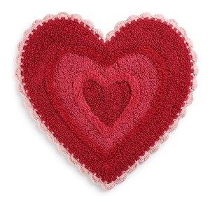 $20.99Celebrate Together Crochet Heart rug