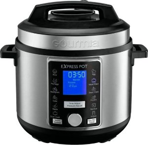 Best Buy Gourmia 6 Quart Pressure Cooker with Auto Release