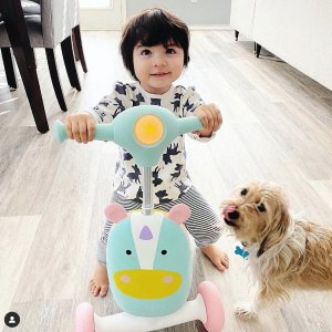 $45 (原价$60) 包邮Skip Hop  三合一骑乘小车 适应不同年龄,伴随宝宝成长