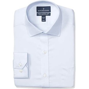 $6.42Buttoned Down Men's Tailored Fit Stretch Twill Dress Shirt