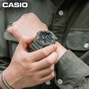 7.6折 97.49(原价$129)Casio G-Shock 男士GA-700UC军事风手表
