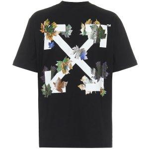 Off-White印花箭头T恤