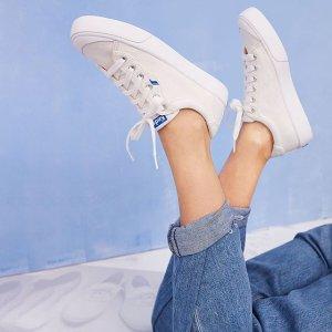$29.95起Keds 精选舒适女鞋热卖 收时尚小白鞋