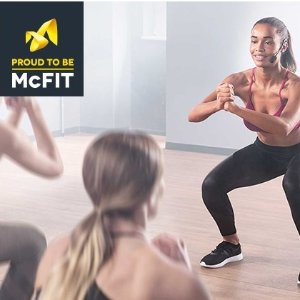 平均每月只要14.5欧McFIT健身房会员卡特价啦 全欧洲健身房都可使用