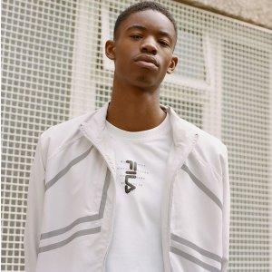 $19.99(原价$149)帅气反光条Urban Outfitters FILA男士工装外套特价 强烈推荐