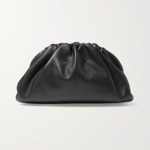 Bottega VenetaThe Pouch small gathered leather clutch
