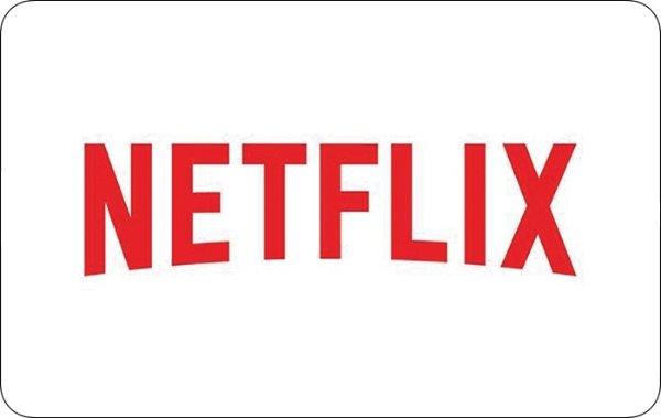 Netflix电子礼卡