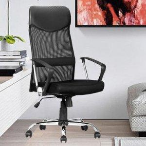 $59.99(原价$169.99)高椅背透气办公椅 上班已经很累了 绝不能委屈了自己