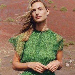 7.5折 凯特王妃爱牌Whistles 英国设计师品牌 春季新款美裙促销