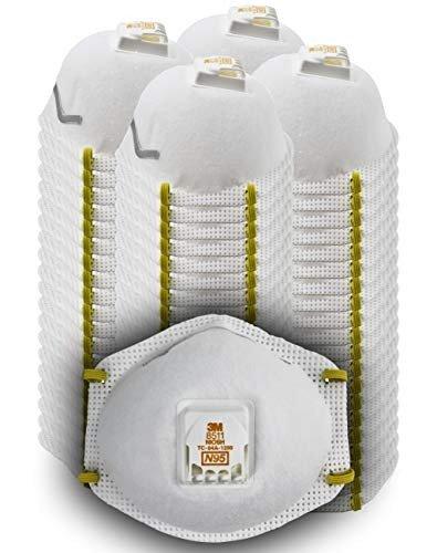 带呼吸阀N95口罩 80个