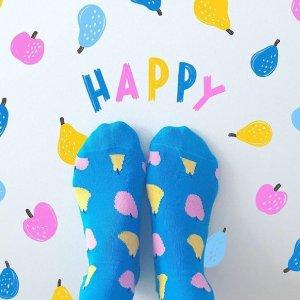 正价商品8.5折Happy Socks官网 时尚萌袜、小裤热卖