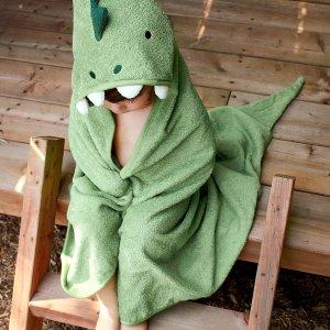 低至6.7折+满减$25Simons Maison 儿童软萌动物系浴室用品 $3.99收小毛巾2件套