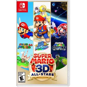 《超级马力欧 3D 全明星》Switch 实体版