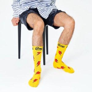 Happy Socks经典闪电版袜子