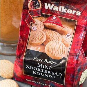 $2.99(原价$4.99) 比amazon划算Walkers 英国黄油迷你曲奇125g 一口一个停不下来 满嘴酥香