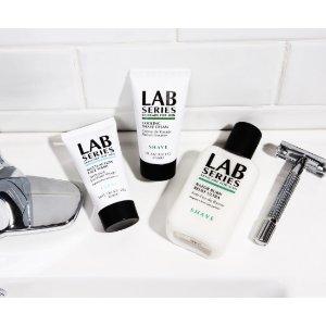 8折优惠+买就送小样Lab Series 护肤系列促销热卖