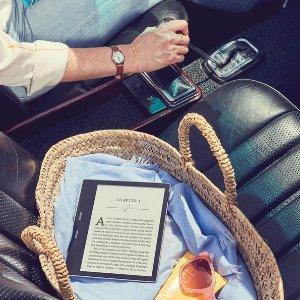 $429(原价$529)超值:Kindle Oasis 电子书 32GB+Wifi 轻松阅读好生活