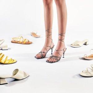 新品9折 多款$59Charles&Keith官网 绝美高跟鞋、超好搭单鞋 穿出百变风格