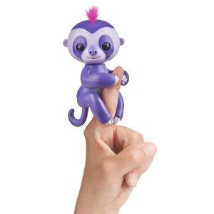 $4.64 两只折扣升级:Fingerlings 指尖Baby 树懒玩具买一送一