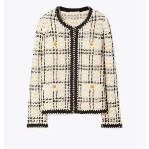 Tory Burch超经典 超多明星同款小香风外套
