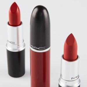 满额送自选正装单色眼影M.A.C 彩妆产品热卖 收子弹头唇膏、定妆喷雾
