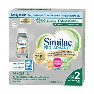 SimilacPro-Advance 2段配方液奶16个装
