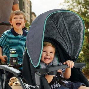 $225.99(原价$349.99)+包邮史低价:Graco Modes Duo 双人童车 婴儿到大童两个娃都适用