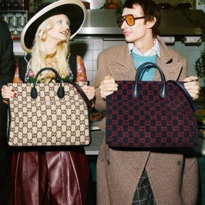 3折起+满减€15 Logo钱包€91独家:Gucci 二手好货 收酒神包、小白鞋、双G腰带