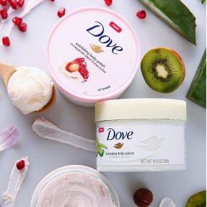 $8.53(原价$12.56) 3款可选Dove 多芬冰淇淋身体磨砂膏特卖 约会自带体香