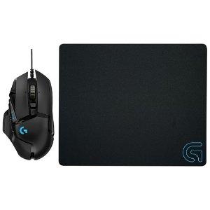 $69.99(原价$99.99)罗技 Logitech G502游戏鼠标+G240鼠标垫