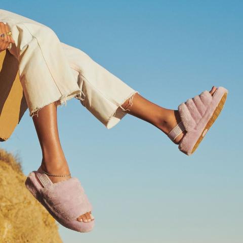 4.4折起 收UGG毛毛鞋Urban Outfitters 家居鞋家居服热卖 宅家也要舒适好看